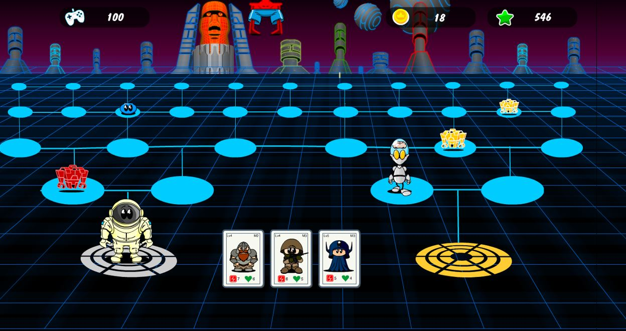 Meesha's Maze futuristic