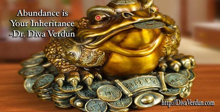 Abundance is your Inheritance - Dr. Diva Verdun - Fierce Impact
