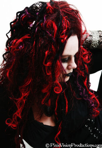 hair extensions, hair color, hair architecture by Fiercelocks