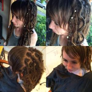 etsy synth dreads hair extensions