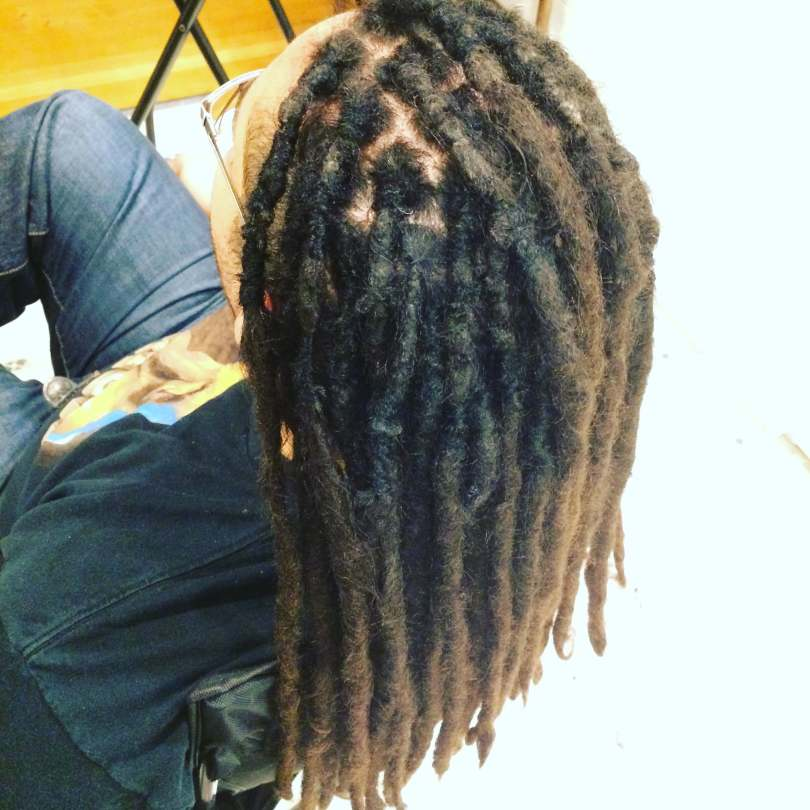 base tie natural dread maintenance