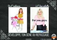 Développe ton gène du repassage