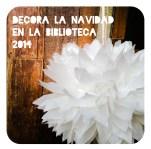 CARTEL NAVIDAD BIBLIOTECA 2014