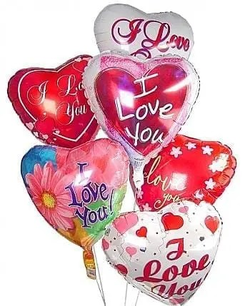 I Love You Balloon Bunch Fiesta Flowers Plants Amp Gifts