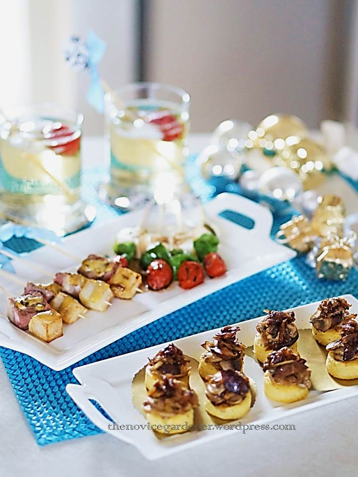 appetizers, canapes, and pinchos