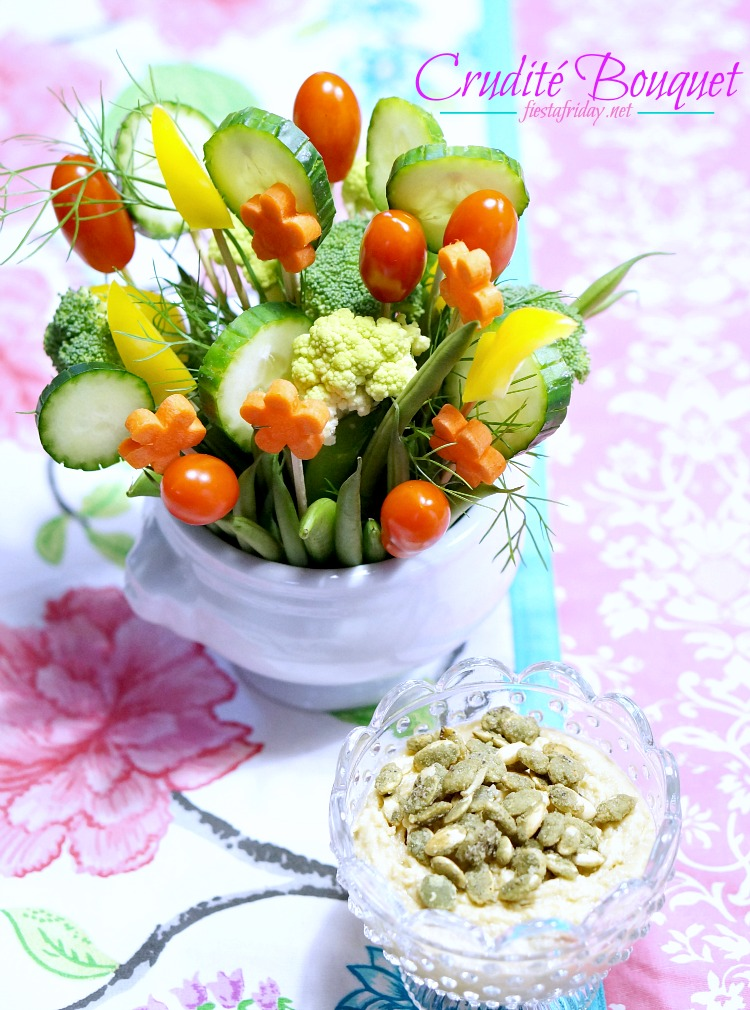 crudite bouquet