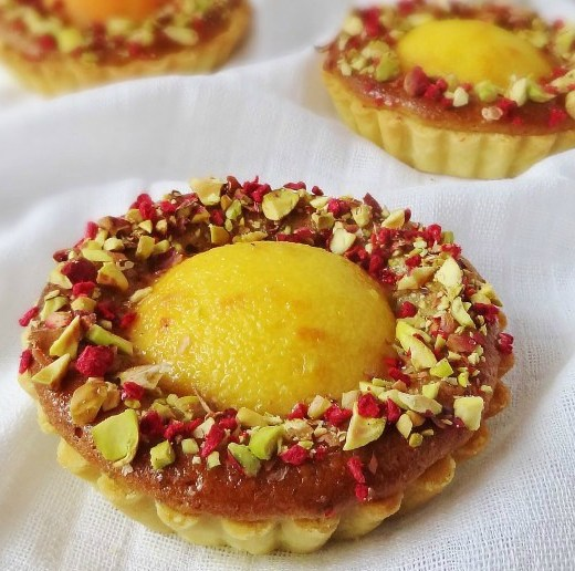 Peach-pistachio-rose-tarts-Domestic-Gothess-659x1024