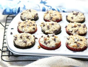 makeover oatmeal banana nut muffins