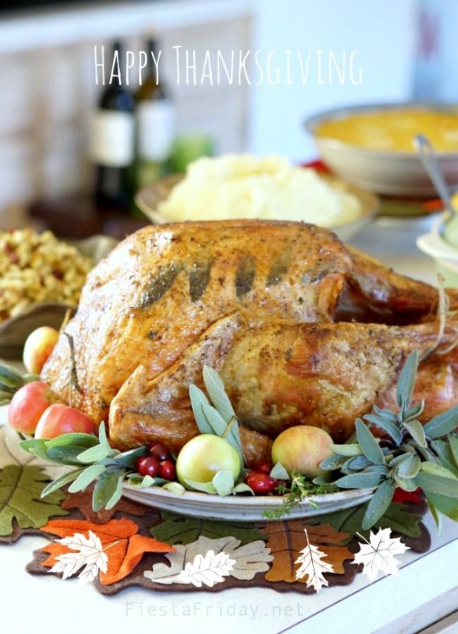 Happy Thanksgiving | FiestaFriday.net