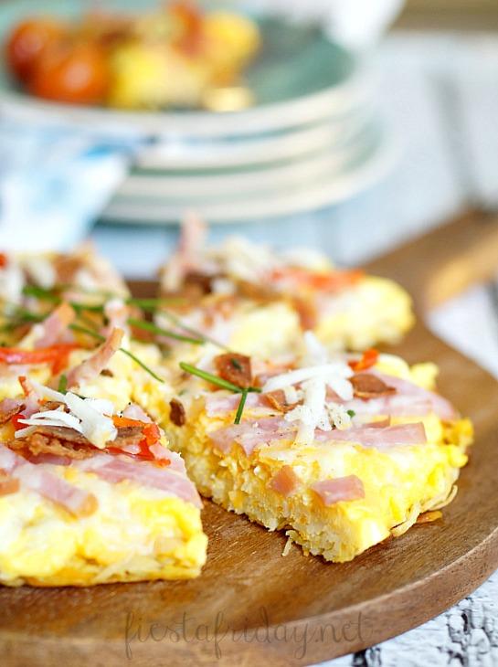 breakfast pizza | fiestafriday.net