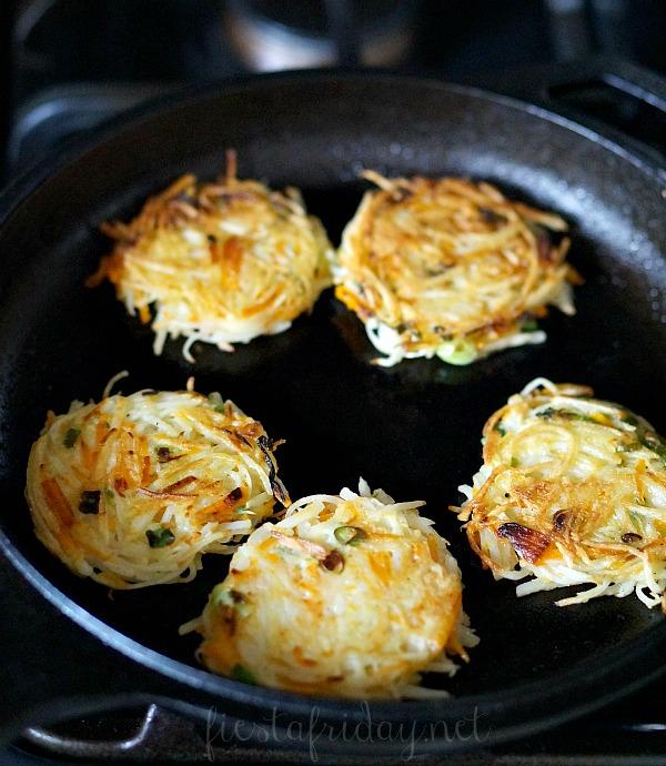 potato pumpkin fritters | fiestafriday.net