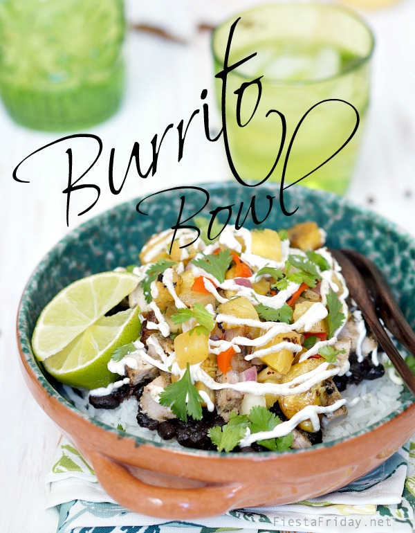 burrito bowl | fiestafriday.net
