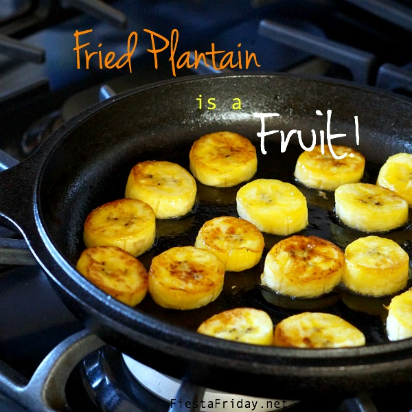 fried plantains | fiestafriday.net