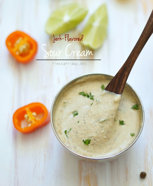 jerk sour cream | fiestafriday.net