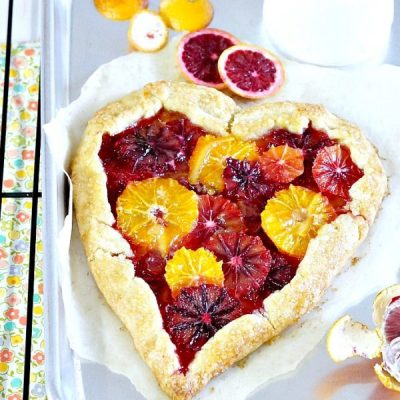 Blood Orange Tart | For Your Valentine