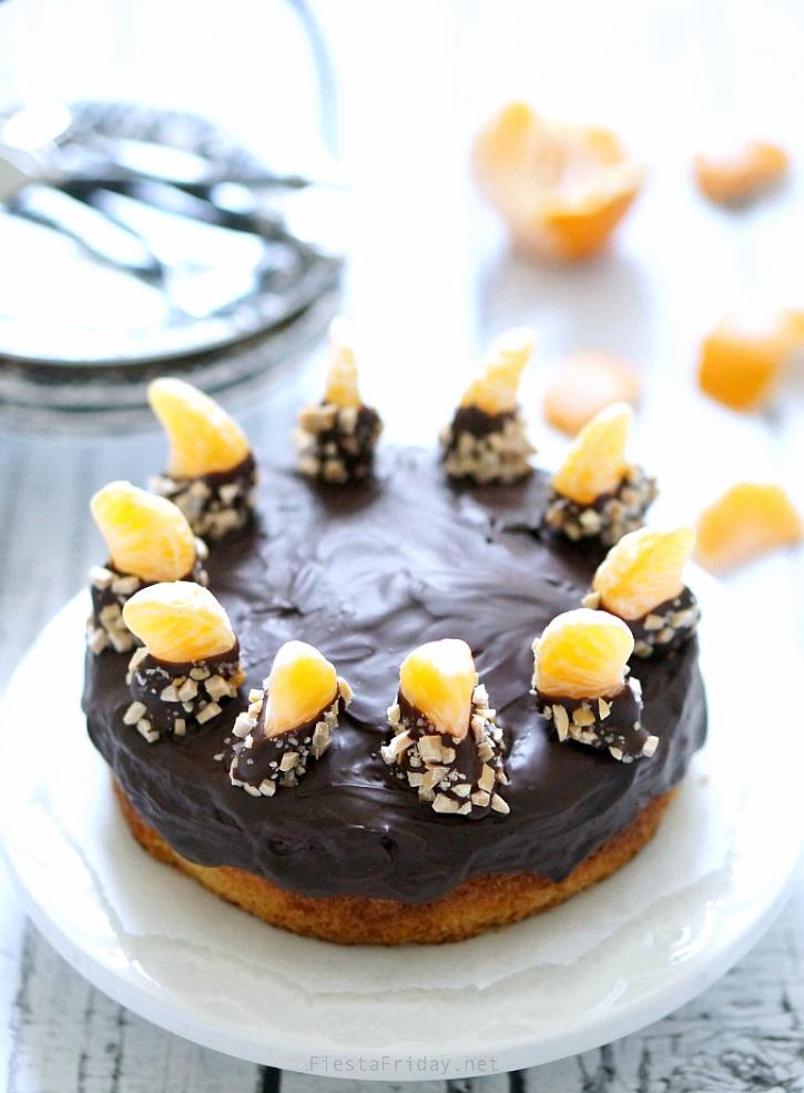 chocolate clementine cake   fiestafriday.net