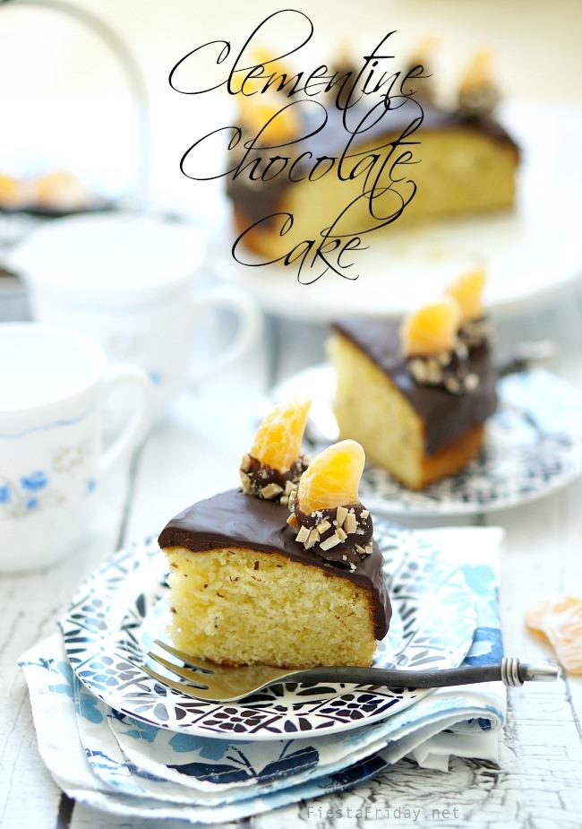 clementine-chocolate-cake | fiestafriday.net