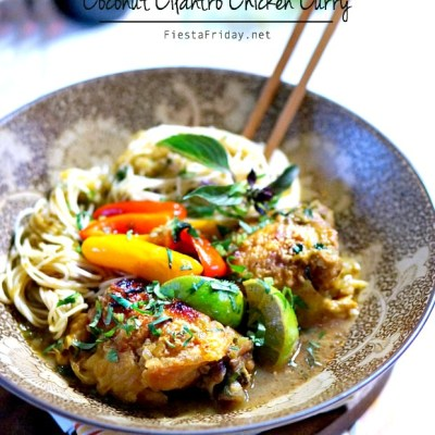 Coconut Cilantro Chicken Curry