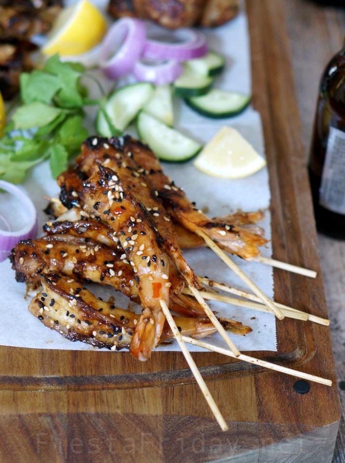 spicy shrimp satay | fiestafriday.net