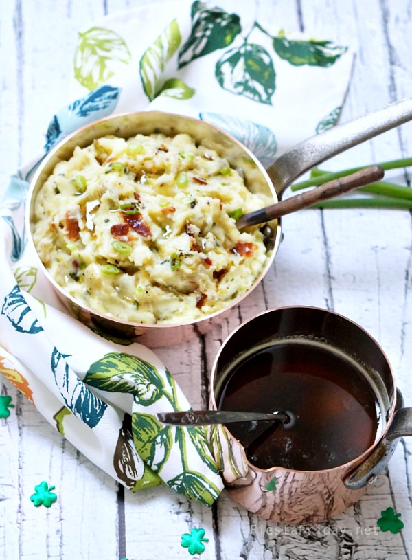colcannon and brown butter | fiestaFriday.net