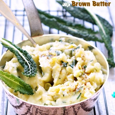 Colcannon with Brown Butter