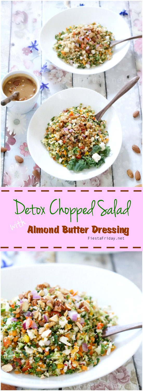 detox chopped salad pin