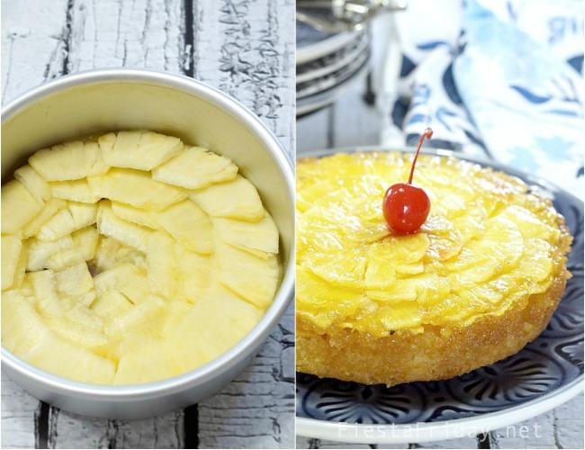 pineapple upside down cake how toe 2   fiestafriday.net