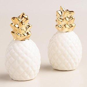 pineapple salt & pepper shaker