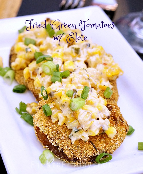 fried-green-tomatoes | fiestafriday.net
