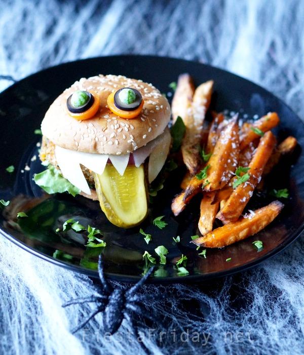 halloween-monster-burger | fiestafriday.net