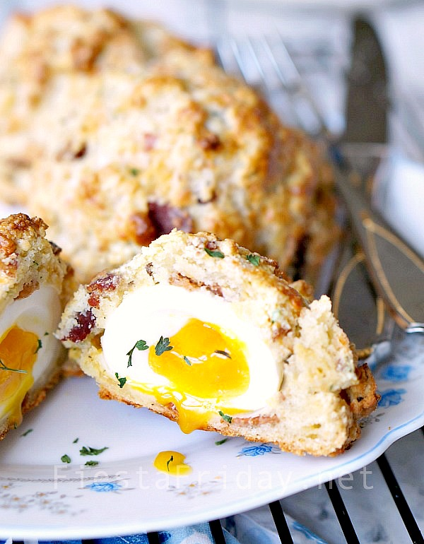 soft-boiled-egg-in-a-bacon-biscuit
