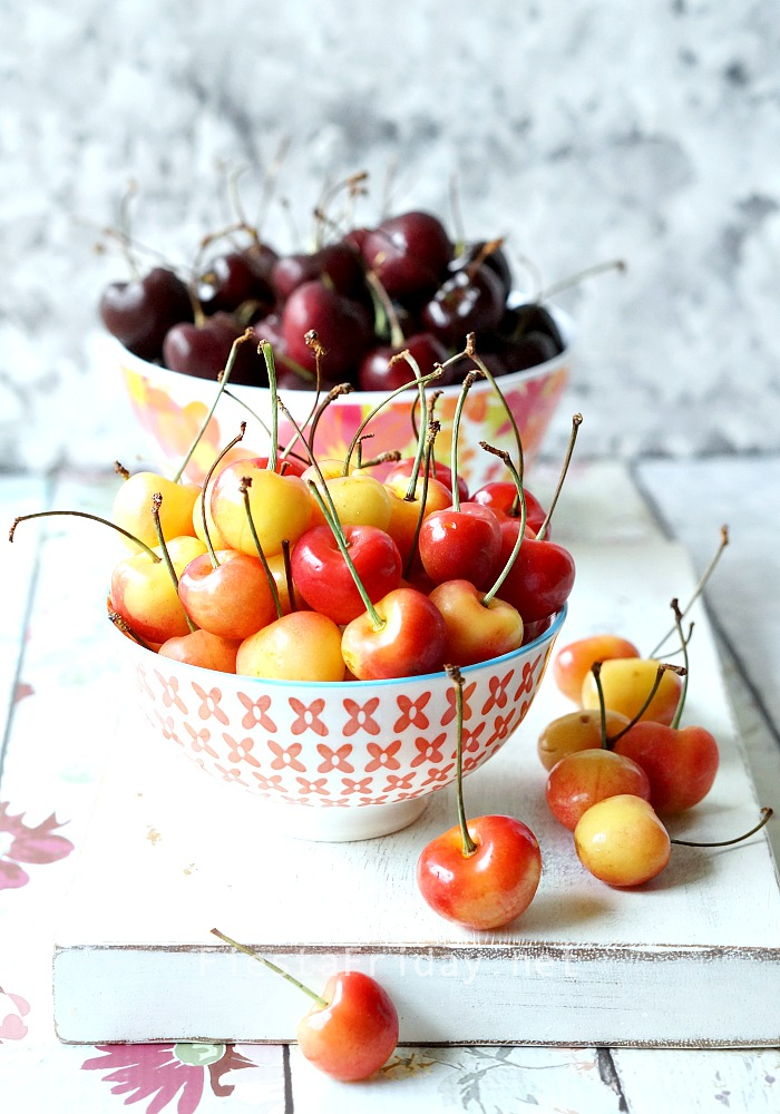 Life is just a bowl of cherries | FiestaFriday.net