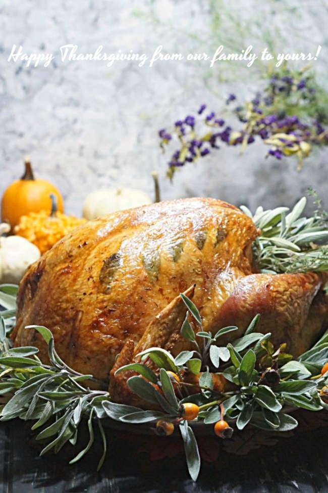 Thanksgiving Turkey | FiestaFriday.net
