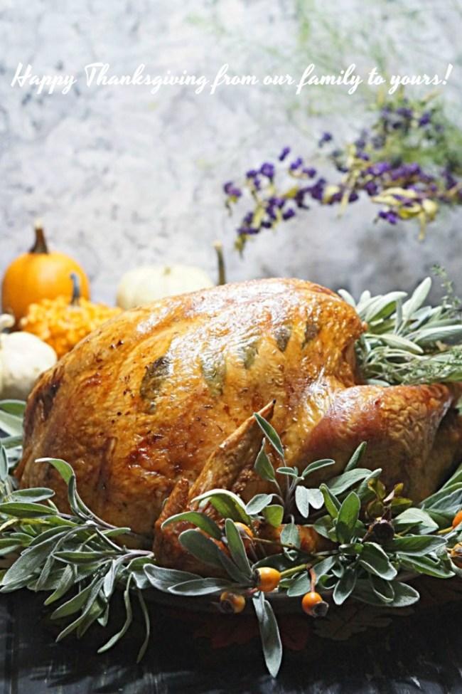 Thanksgiving Turkey | FiestaFriday.net