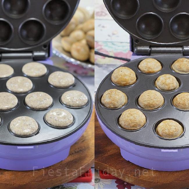 Sourdough Buckwheat Poffertjes   FiestaFriday.net