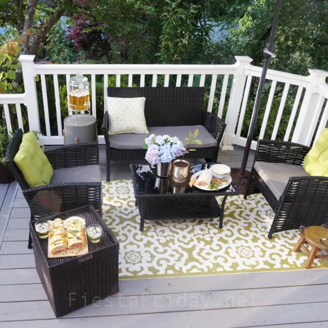 Outdoor Furniture | FiestaFriday.net