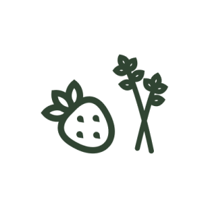 Herbs + Fruit