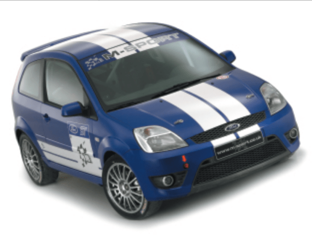 Fiesta ST Rally Car