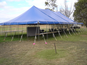 Large Blue Marquee
