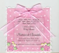 Invitaciones baby shower de nia
