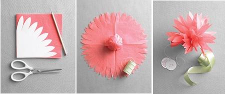 Recuerdos para bautizo con forma de flor  Regalos