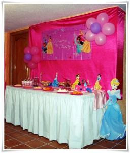 Decoración de fiestas infantiles temática Princesas
