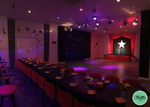 Cumpleaños Disco Junior Sala grande