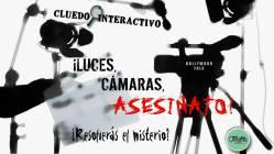 Coaching de equipos o Team building - Cena con asesinato o Cena de Misterio - Cluedo Interactivo ¡Luces, Cámara, Asesinato!