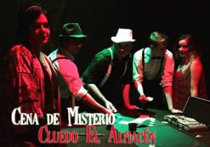 """Cena de Misterio Cluedo Interactivo """"El Almacén"""""""