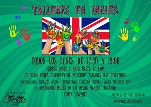Talleres en ingles para niños en Illescas
