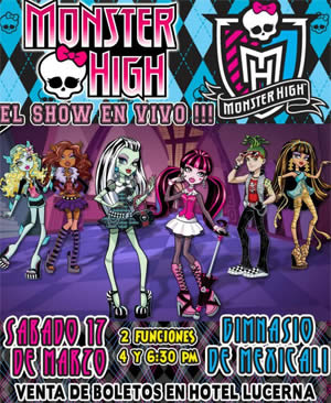monster high mexicali 2012
