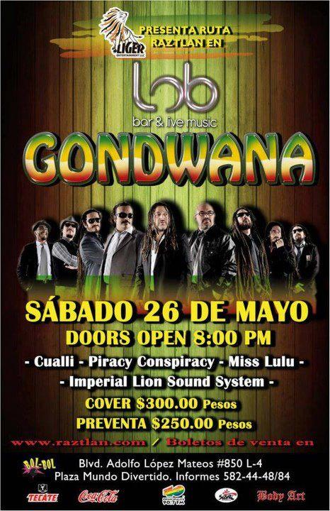 Gondwana en Mexicali 2012