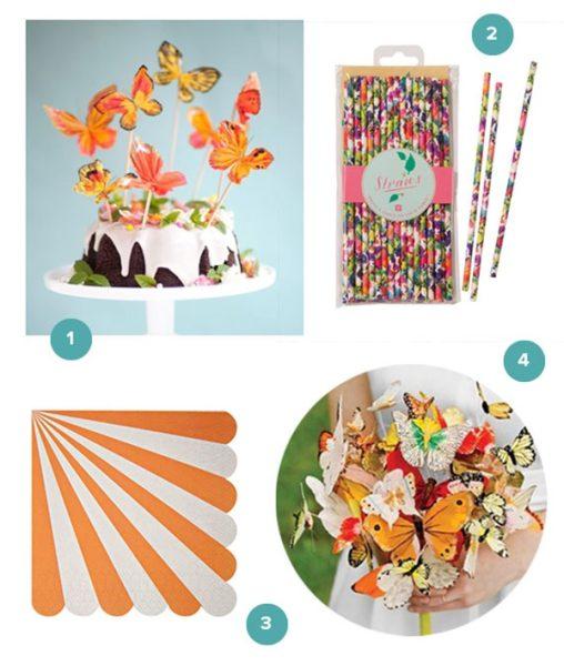 Ideas para una fiesta de mariposa para nias  Fiestas y