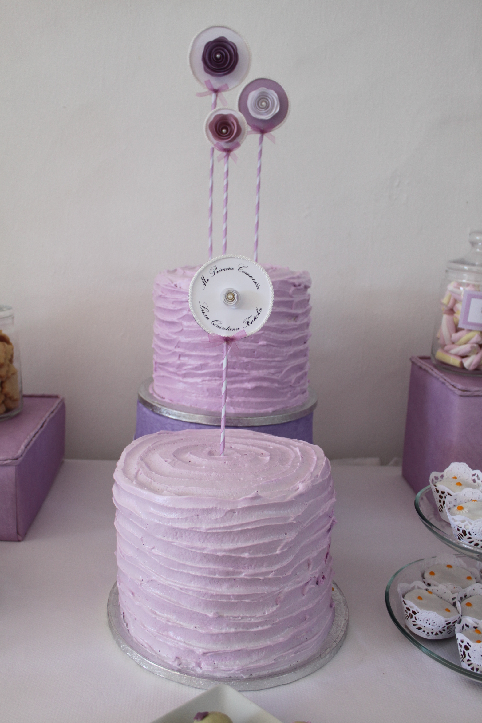 mesa dulce personalizada  Fiesta y Pasteles